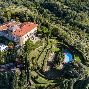 Bovenaanzicht 2 Villa Pitiana