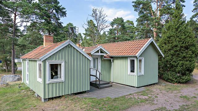 Exterieur 3-kamerwoning First Camp Oknö