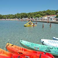Zaton resort, strand