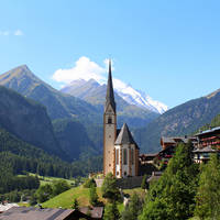 Kerk nabij Grossglockner