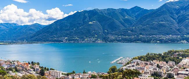 Locarno aan het Lago Maggiore