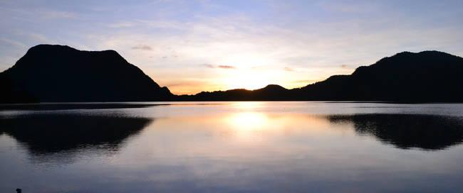 Gunung Tujuh meer
