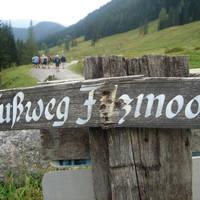 Voetpad rond Filzmoos