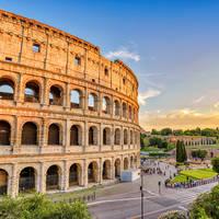 Colosseum op ca. 3 km afstand