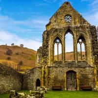 Llangollen - Cistercian Valle Crucis Abbey