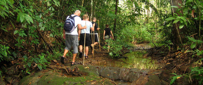 Thailand - jungle trektocht