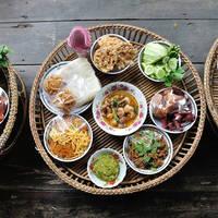 Traditionele Thaise maaltijd