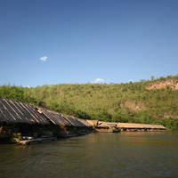 Rivierzicht Thailand