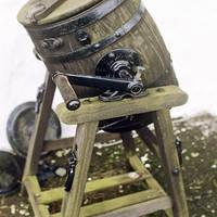 Isle of Skye - oud whisky vat bij Talisker Distillery
