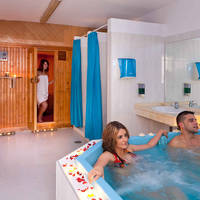 Sauna en jacuzzi