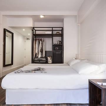 Voorbeeld slaapkamer Hotel Delamar - adults only