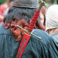 Viking op de rug gezien
