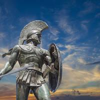 Standbeeld van Leonidas, koning van Sparta