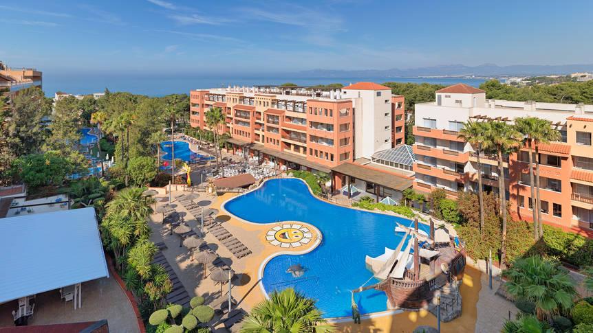 Zwembad Hotel H10 Mediterranean Village