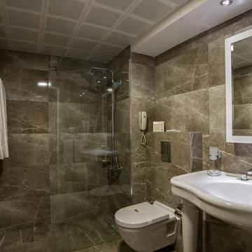 Badkamer Hotel Yigitalp