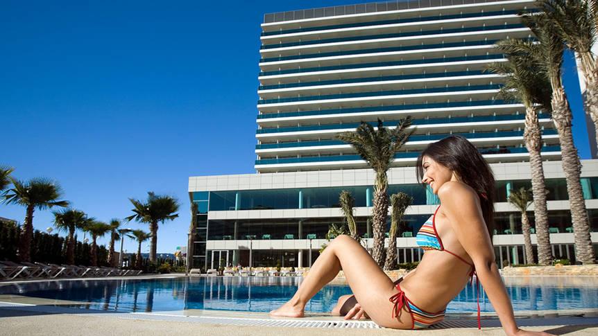 Zwembad Hotel AR Diamante Beach