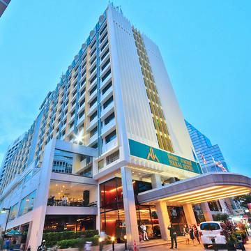 Narai hotel- vooraanzicht Narai Hotel