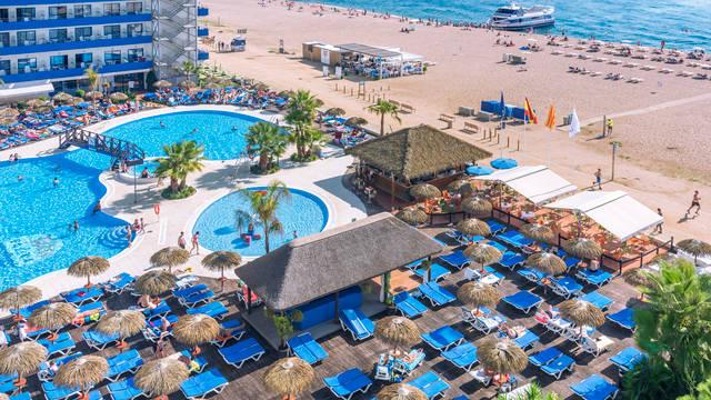 Zwembad Hotel Tahiti Playa