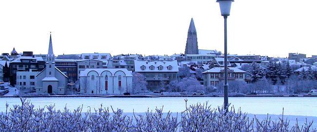 Reykjavik overzicht