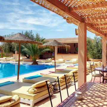 Zwembad Riad La Maison des Oliviers