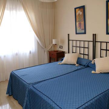 Voorbeeld slaapkamer Appartementen Albir Confort Avenida