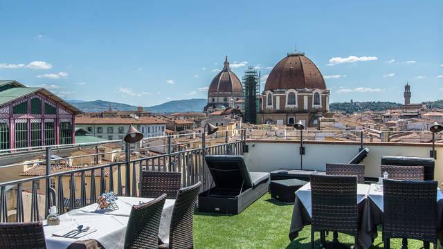 Dakterras Hotel Machiavelli Palace