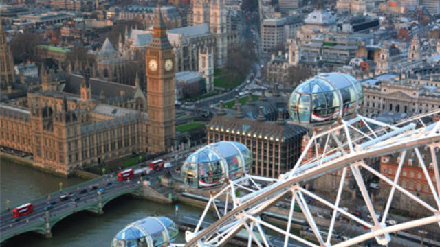 Gratis London Eye t.w.v. € 30 p.p.