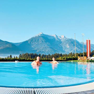 Buitenzwembad Ferienhotel Glocknerhof
