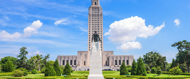 State Capitol in Baton Rouge