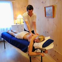 Genieten van een massage