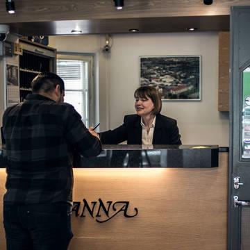 Receptie Hotel Anna