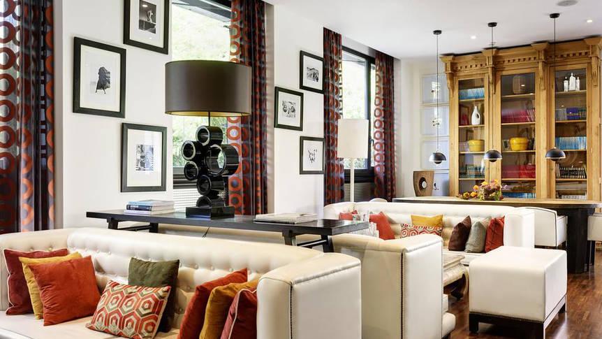 Lounge Hotel Pulitzer Roma