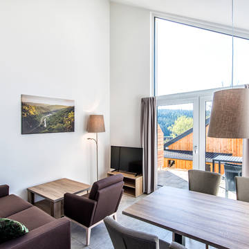 Voorbeeld 2-kamerbungalow Panorama Feriendorf an der Therme Obernsees