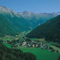 Uitzicht over Mallnitz