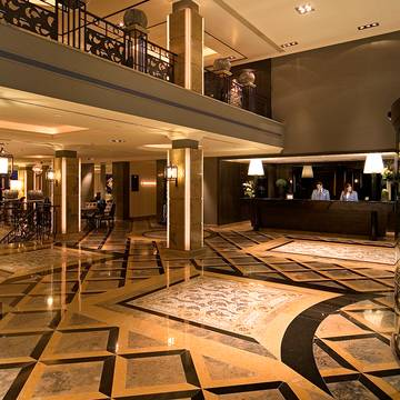 Real Grande Italia Lobby Hotel Grande Real Villa Italia & Spa