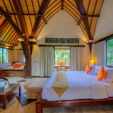 Voorbeeld Deluxe kamer Vila Lumbung
