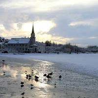 Reykjavik winter