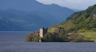 Urquhart Castle en Loch Ness