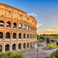 Colosseum op ca. 20 minuten wandelen