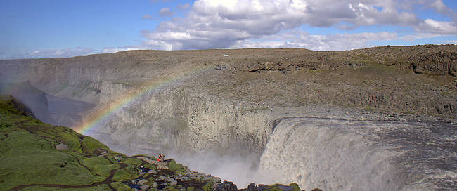 Dettifoss waterval
