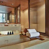 Voorbeeldkamer Junior Lagoon Suite - badkamer