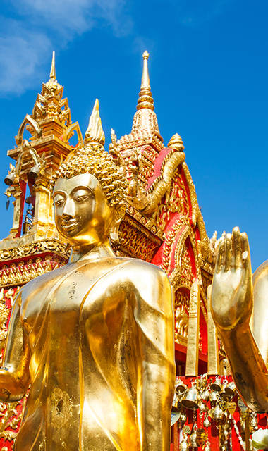 7-daagse privé rondreis met chauffeur & gids Culturele schatten van Thailand