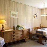 Voorbeeld woonkamer met zithoek