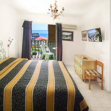 Voorbeeldkamer Hotel da Peppe