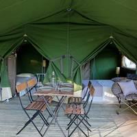Voorbeeld Lodgetent Safari