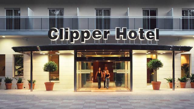 Vooraanzicht, Hotel Clipper Hotel Clipper