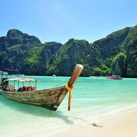Strand bij Phuket