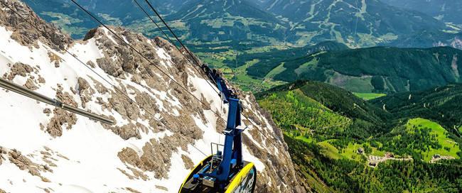 Gondel Dachstein Gletsjer