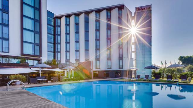 Zwembad Hotel Hilton Garden Inn Venice Mestre San Giuliano