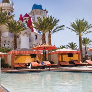 Zwembad Hotel Excalibur & Casino